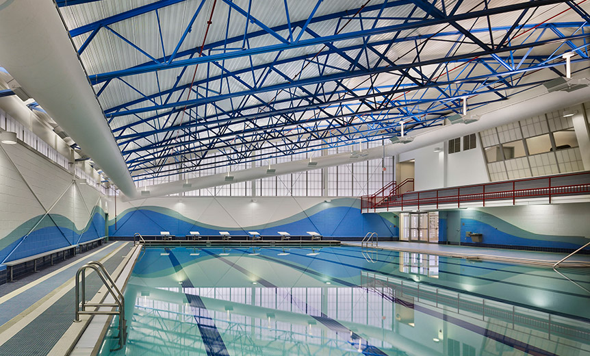 Secaucus Recreational Center Mast Construction Services
